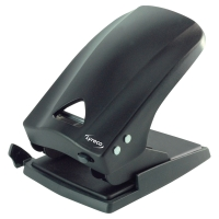 LYRECO 2 HOLE PUNCH 65 SHEETS BLACK
