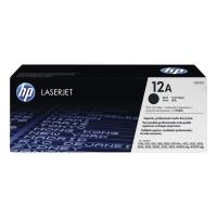 Tóner láser HP 12A negro Q2612A para láserJet 1010/1012/1015/1022/3015/3020/3030
