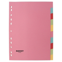 Lyreco Budget neutrale tabbladen 10 tabs karton 11-gaats