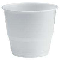 Pack de 80 tazas de café de poliestireno 200cc color blanco