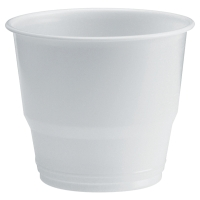 Kubki plastikowe termiczne DUNI Combi, białe 210 ml, 80 sztuk