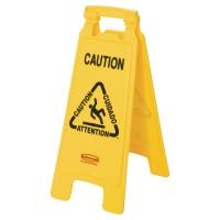 """Výstražná značka """"Klzká podlaha"""" žltá"""