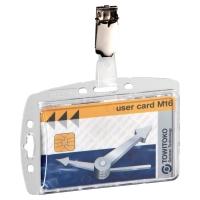 Durable 8005 badgehouder voor bedrijfspassen - pak van 25