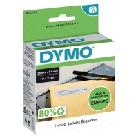 ETIKETT RETURADRESSE DYMO 11352 25X54MM HVIT PK500