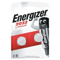 BATTERIE AL LITIO ENERGIZER PER CALCOLATRICI CR2032 3V 3,20MM - CONF. 2