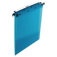 Teczka zawieszkowa ELBA niebieska polipropylenowa opakowanie 10 sztuk