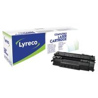 Tóner láser LYRECO negro HP 49A y CANON 708