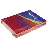 Lyreco gekleurd papier A3 80g kersenrood - pak van 500 vellen