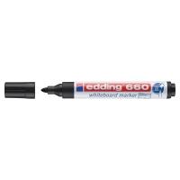Marcador para pizarra blanca EDDING 660 color negro
