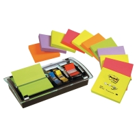 LOT 12 BLOCS Z-NOTES NEON + 1 DEVIDOIR MILLENIUM POST-IT