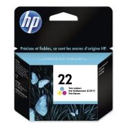 Cartucho de tinta HP 22 tricolor C9352AE para DeskJet 3920 y PSC1410