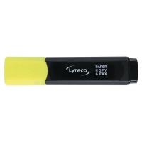 Marcador fluorescente amarillo LYRECO.2-5 mm ancho