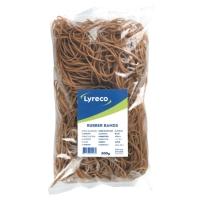 Lyreco elastieken 2x150mm - doos van 500 gram
