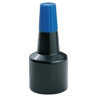 Stempelfarbe, 30 ml, blau