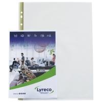 PLASTLOMME LYRECO PP 0,08 A4 MATT OVERFLATE PK25