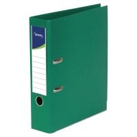 Archivador palanca color verde  folio  lomo 80mm LYRECO