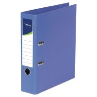 Archivador palanca color azul  folio  lomo 45mm LYRECO