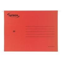 Teczka zawieszkowa LYRECO Premium A4 czerwona opakowanie 25 sztuk
