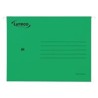 Teczka zawieszkowa LYRECO Premium A4 zielona opakowanie 25 sztuk