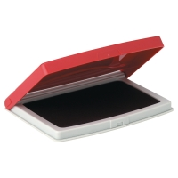Poduszka do stempli 70 x 110 mm, czerwona