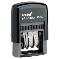 TRODAT 4820 藍色日期印 字體尺碼:4毫米, 印字尺碼:26x10毫米