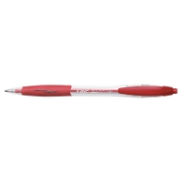 Bic Atlantis intrekbare balpen medium rood