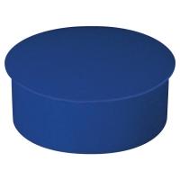 Lyreco ronde magneten 22mm blauw - doos van 10