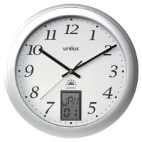 Nástenné hodiny Unilux, priemer 30 cm