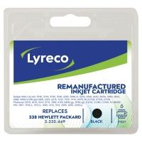 Cartucho de tinta LYRECO negro 338 compatible con HP DeskJet 5700/6800