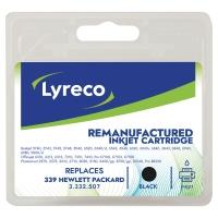Cartucho de tinta LYRECO negro 339 compatible con HP DeskJet 5700/6800