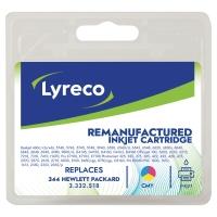 Cartucho de tinta LYRECO tricolor compatible con HP 344 para DeskJet 5700/6800
