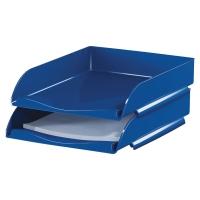Półka na dokumenty LYRECO standardowa, niebieska