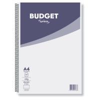 Zápisník A4 Lyreco Budget, linajkový 8 mm, 80 listov