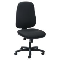 Prosedia J962 bureaustoel met synchroon contact - zwart