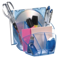 ORGANIZER DA SCRIVANIA ICE BY CEP IN POLISTIRENE ICE BLUE