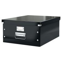 Odkladací box Leitz Click & Store L 36,9x20x48,4 cm, čierna