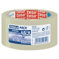 PAKKETAPE TESA 57167 PP 50 MM X 66 M TRANSPARENT