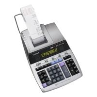 Tischrechner Canon MP1211-LTSC, druckend, 14-stellige Anzeige, silber