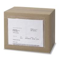Caja de 250 sobres de envío transparentes de 160 x 225 mm