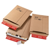 Tašky kartónové s rozšíriteľným dnom (150x 250 x 50 mm)