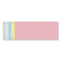 Exacompta petits intercalaires rectangulaires carton 190g jaune - paquet de 100