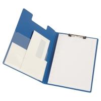 Carpeta con clip y solapa de polipropileno Dimemensiones 240x330mm Color Azul