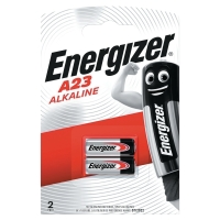 PACK 2 PILES BOUTONS ALCALINE ENERGIZER A23