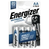 BATTERIE ENERGIZER LITHIUM LR6/AA - CONF. 4