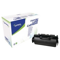 Tóner láser LYRECO negro compatible con LEXMARK 64036HE T640/642/644/X642/X644
