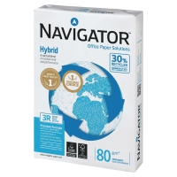 Paquete de 500 hojas papel NAVIGATOR Hybrid  A3 de 80g/m2