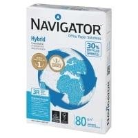 Kopierpapier Navigator Hybrid A3, 80 g/m2, 30% Recycling, FSC, Pk.à 500 Bl.