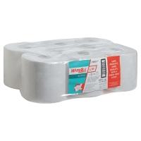 Pack de 6 bobinas industriales de papel 1 capa WYPALL 199m color blanco