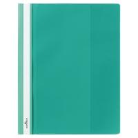 Schnellhefter Durable Duraplus 2579 A4+, mit Sichttasche, grün