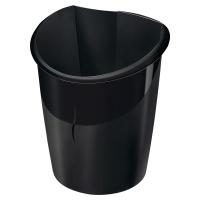 Papelera 15 l poliestireno reciclado negro CEP Isis  Dimensiones: 278x318mm